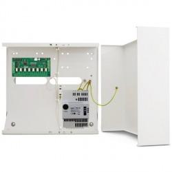 INT-O - uitgangen uitbreidingsmodule in metalen behuizing met APS-412 voeding