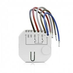 ASW-210 - ABAX 2 draadloze tweekanaals 230 V AC inbouw controller