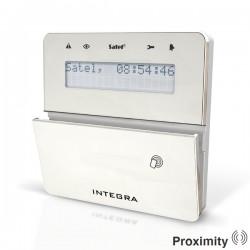 INT-KLFR - zilver InteGra LCD proximity bediendeel