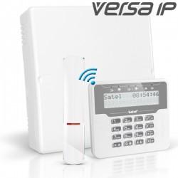 VERSA IP pack met wit draadloos LCD bediendeel en RF module