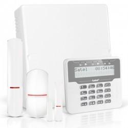 VERSA IP RF pack met wit LCD, RF module, draadloze multifunctionele detector en PIR