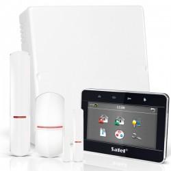 "VERSA IP RF pack met zwart TSG 4.3"" touchscreen bediendeel, RF module, draadloze multifunctionele detector en PIR"