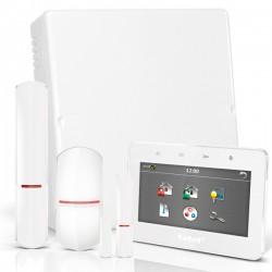 """VERSA IP RF pack met wit TSG 4.3"""" touchscreen bediendeel, RF module, draadloze multifunctionele detector en PIR"""