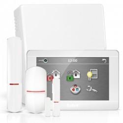 """VERSA IP RF pack met wit INT-TSH 7"""" touchscreen bediendeel, RF module, draadloze multifunctionele detector en PIR"""
