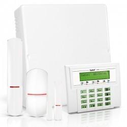 VERSA IP RF pack met groen LCD, RF module, draadloze multifunctionele detector en PIR