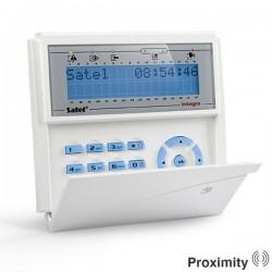 INT-KLCDR blauw InteGra LCD proximity bediendeel