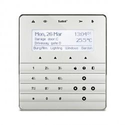 INT-KSG soft touch bediendeel zilver voor INTEGRA