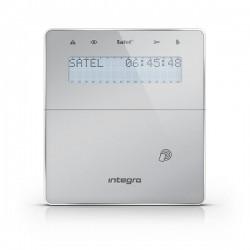 INT-KWRL2-SSW - ABAX 2 zilver draadloos LCD proximity bediendeel t.b.v. INTEGRA